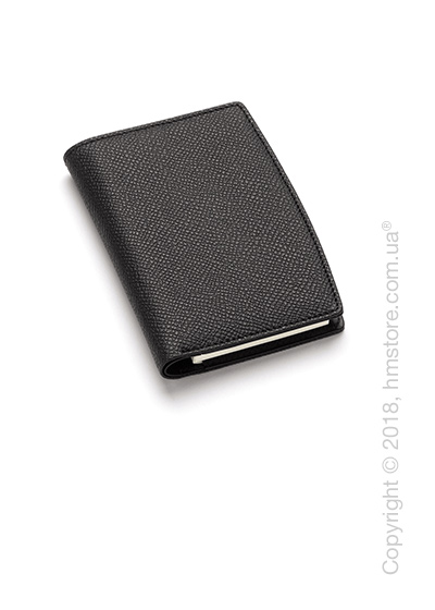 Блокнот Graf von Faber-Castell, Black Grained Leather