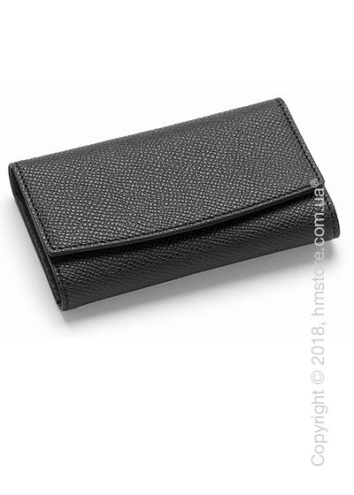 Ключница Graf von Faber-Castell, Black Grained Leather