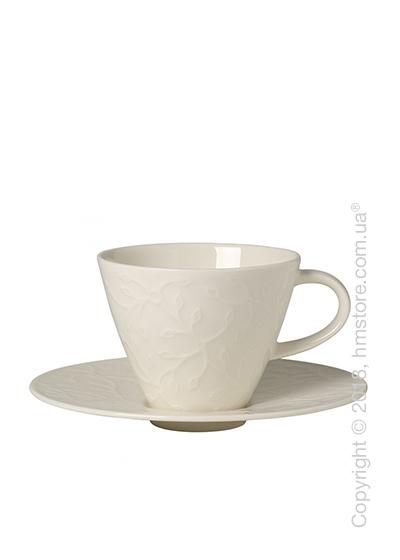 Чашка с блюдцем Villeroy & Boch коллекция Caffè Club Floral Touch 220 мл