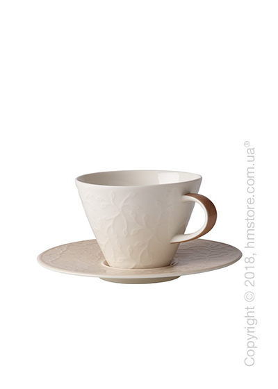 Чашка с блюдцем Villeroy & Boch коллекция Caffè Club Floral Touch 390 мл, Hazel