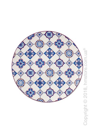 Тарелка десертная мелкая Villeroy & Boch коллекция Modern Dining, серия Caro, Indigo