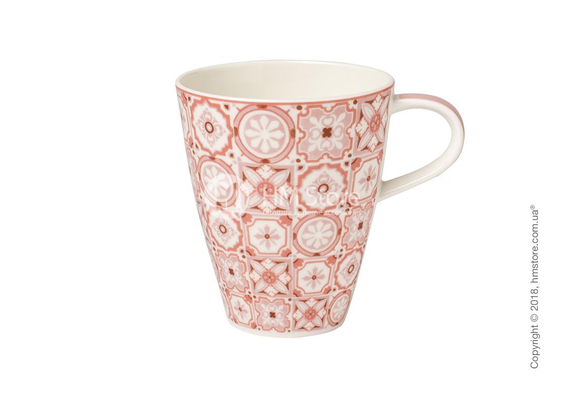Чашка Villeroy & Boch коллекция Modern Dining, серия Caro 350 мл, Rose