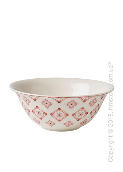 Салатница Villeroy & Boch коллекция Modern Dining, серия Caro 1,2 л, Rose