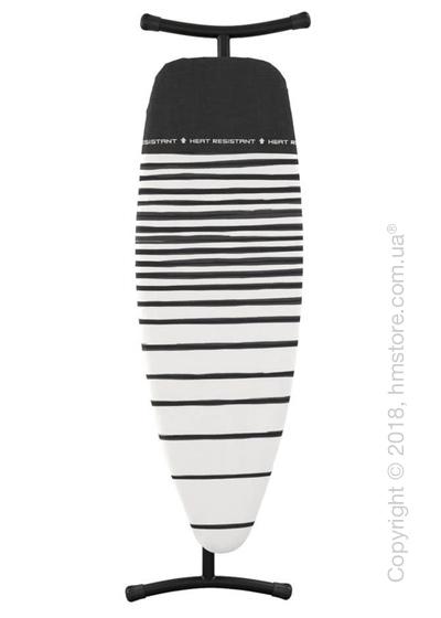 Гладильная доска Brabantia Silicone Heat Pad, Black and Fading Lines