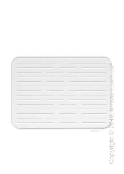 Коврик-сушилка для посуды Brabantia Silicone Printing Mat, Light Grey