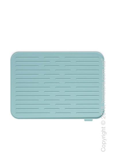 Коврик-сушилка для посуды Brabantia Silicone Printing Mat, Mint