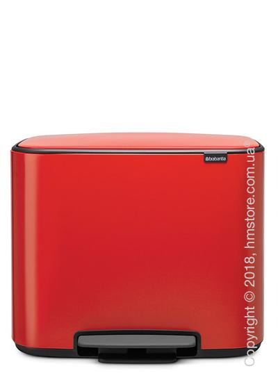 Ведро для мусора Brabantia Bo Pedal Bin 36 л, Passion Red