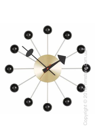 Часы настенные Vitra Ball Clock, Black