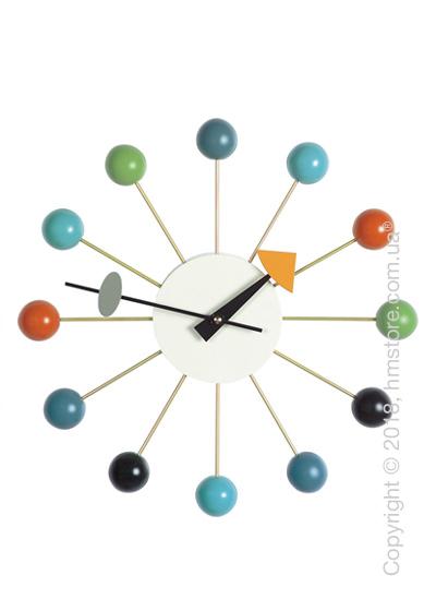 Часы настенные Vitra Ball Clock, Multicoloured