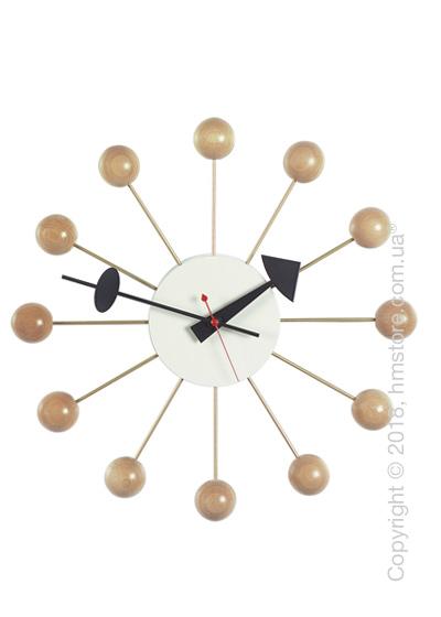 Часы настенные Vitra Ball Clock, Natural