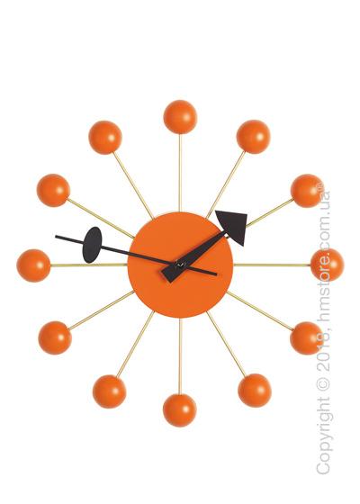 Часы настенные Vitra Ball Clock, Orange