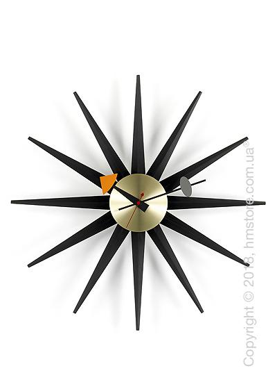 Часы настенные Vitra Sunburst Clock, Black