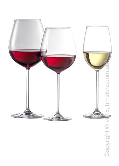 Набор бокалов для вина Schott Zwiesel Diva на 6 персон, 18 предметов