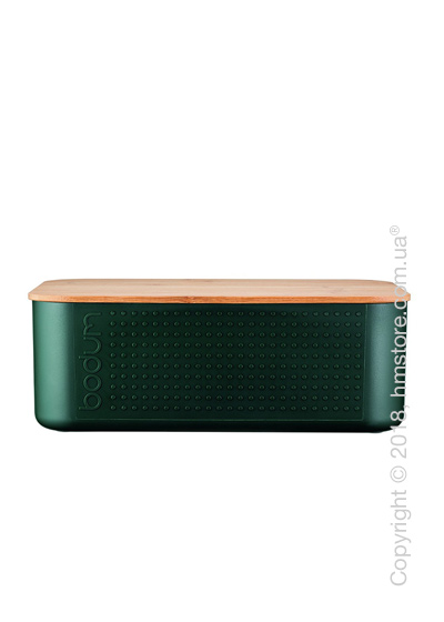 Хлебница Bodum Bistro Small, Dark Green