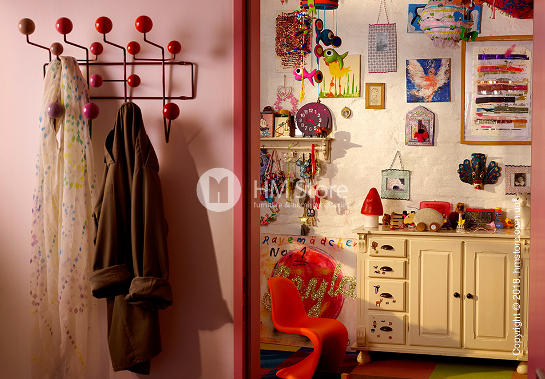 Стул детский Vitra Panton Junior Chair, Classic Red