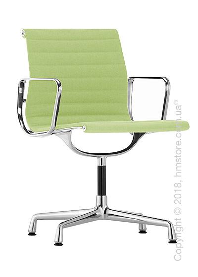 Кресло Vitra Aluminium Chair EA 103, Fabric Grass-Green Ivory