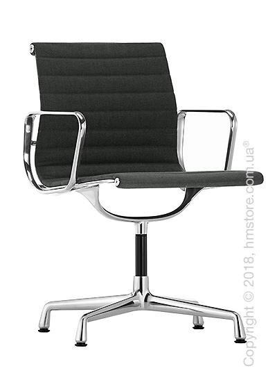 Кресло Vitra Aluminium Chair EA 103, Fabric Dark Grey