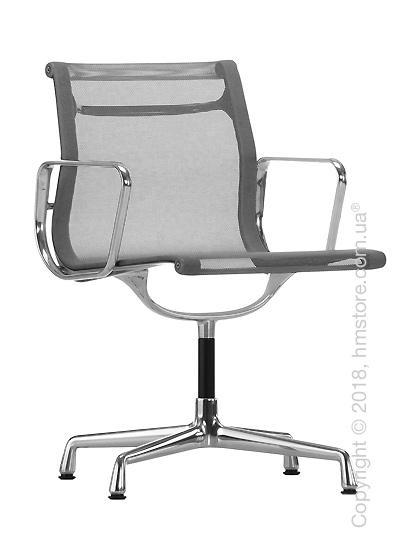Кресло Vitra Aluminium Chair EA 103, Netweave Dark Grey