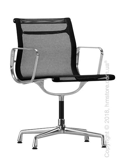 Кресло Vitra Aluminium Chair EA 103, Netweave Nero