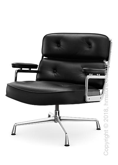 Кресло Vitra Lobby Chair ES 105, Leather Nero