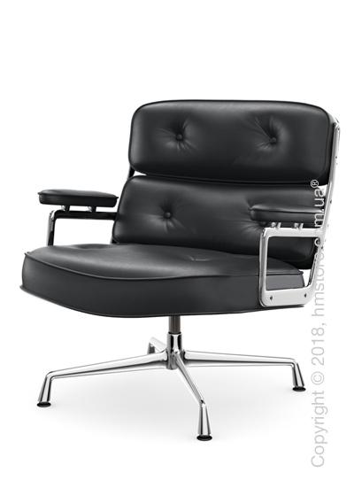 Кресло Vitra Lobby Chair ES 105, Leather Asphalt