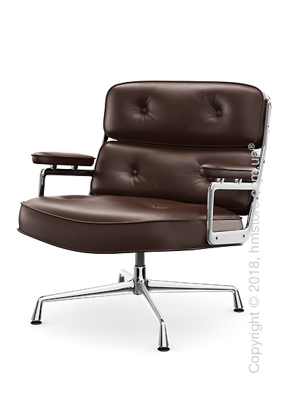 Кресло Vitra Lobby Chair ES 105, Leather Marron