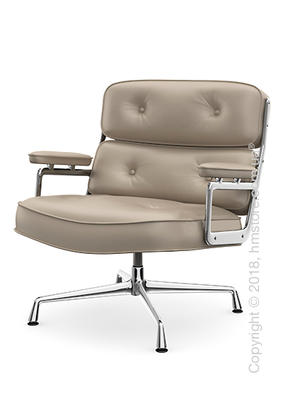 Кресло Vitra Lobby Chair ES 105, Leather Sand