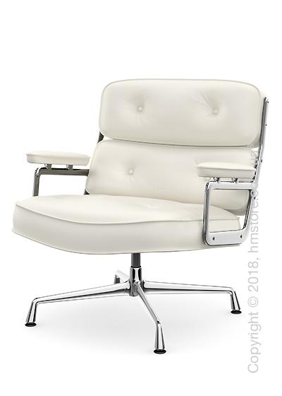 Кресло Vitra Lobby Chair ES 105, Leather Snow