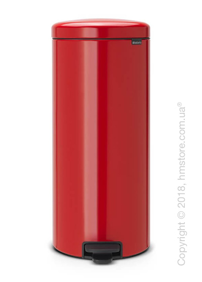 Ведро для мусора Brabantia Pedal Bin NewIcon 30 л, Passion Red