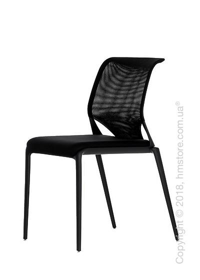 Кресло Vitra MedaSlim without armrests, Netline Nero