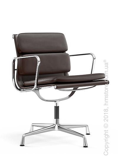 Кресло Vitra Soft Pad Chair EA 207, Leather Marron Brown
