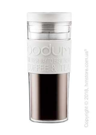 Термостакан Bodum Travel Mug 450 мл, White