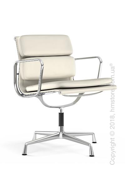 Кресло Vitra Soft Pad Chair EA 207, Leather Snow White