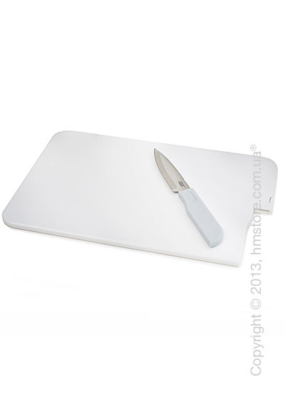 Доска с ножом Joseph Joseph Slice & Store, Белая