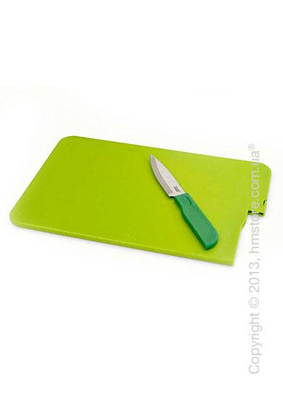 Доска с ножом Joseph Joseph Slice & Store, Зеленая