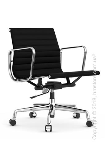 Кресло Vitra Aluminium Chair EA 117, Fabric Nero