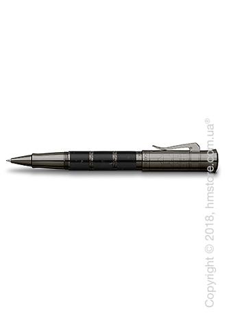 Ручка роллер Graf von Faber-Castell серия Pen of The Year, коллекция 2018, Black Edition