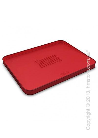 Разделочная доска Joseph Joseph Cut & Carve Plus Large, Красная