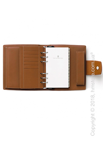 Органайзер Graf von Faber-Castell Personal Agenda No. 1, Cognac Grained Leather
