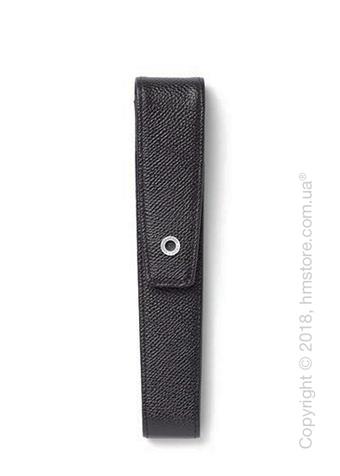 Кожаный пенал для ручки Graf von Faber-Castell Case With Magnetic Catch for 1 Pen Epsom, Black Grained Leather