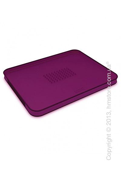 Разделочная доска Joseph Joseph Cut & Carve Plus Small, Фиолетовая