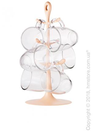 Набор чашек на подставке Bodum Copenhagen 310 мл на 6 персон, Beige