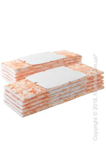 Комплект из 10-ти одноразовых салфеток для полувлажной уборки для iRobot Braava Jet 240