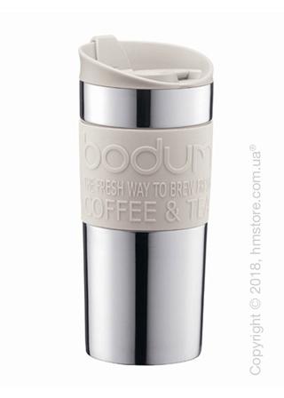 Термокружка Bodum Travel Mug Silver 350 мл, White