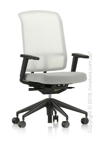 Кресло Vitra AM Chair, white backrest, Plano Cream White Sierra Grey