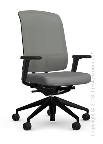 Кресло Vitra AM Chair, grey backrest, Plano Sierra Grey