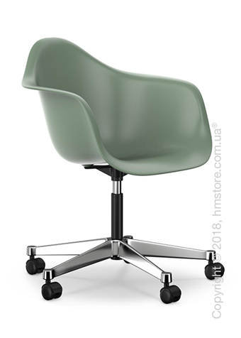Кресло Vitra Eames Plastic Armchair PACC, Moss Grey