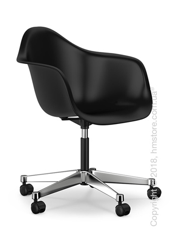 Кресло Vitra Eames Plastic Armchair PACC, Basic Dark