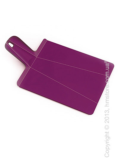 Разделочная доска Joseph Joseph Chop2Pot Plus Large, Фиолетовая