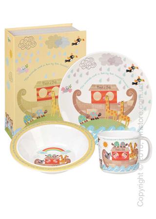 Набор детской посуды Churchill Noah's Ark Breakfast Set, 3 предмета